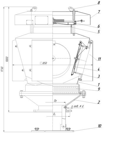 запорный клапан 15б1п